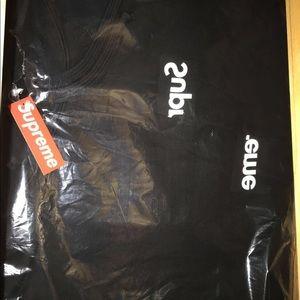 e849f1b5 ... Supreme x CDG split box logo hoodie black medium ...